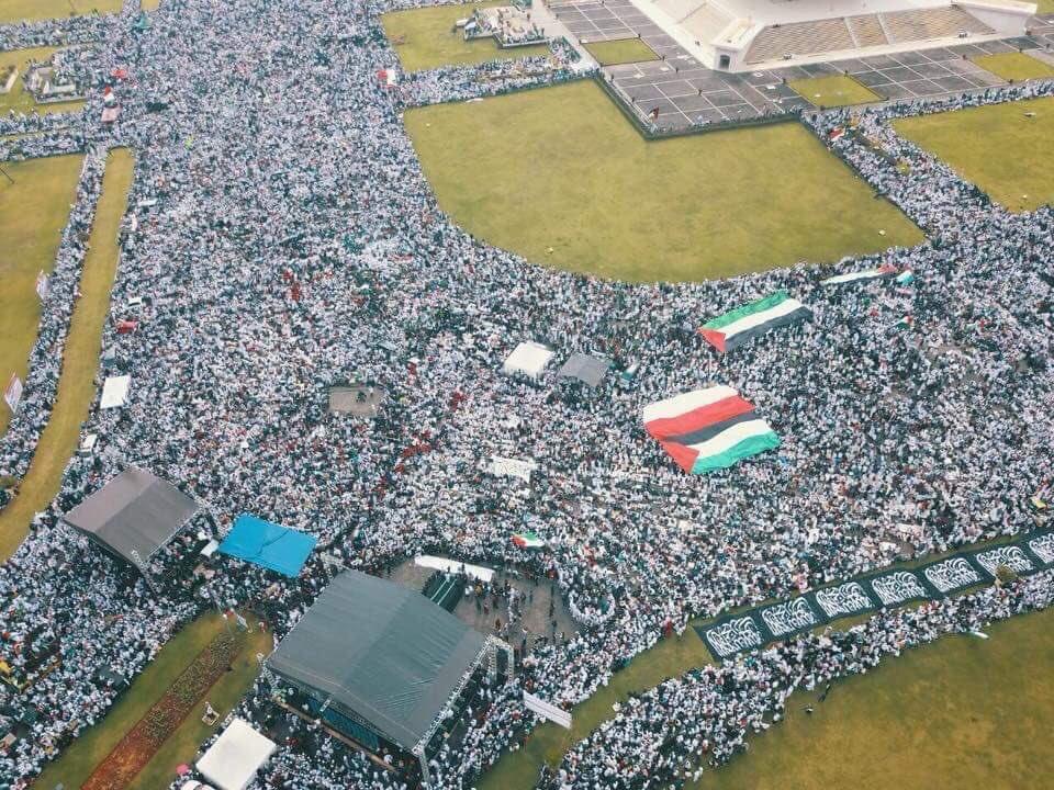 Endonezya'da  #Kudüs mitingi.   #Kudüsİs...