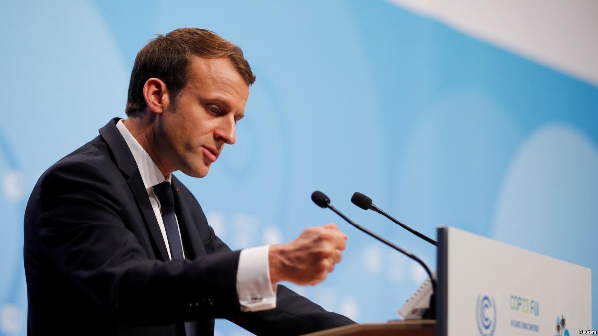 Iran Tells France's Macron Not to 'Blindly Follow' Trump https://t.co/WDL5zRTXCm