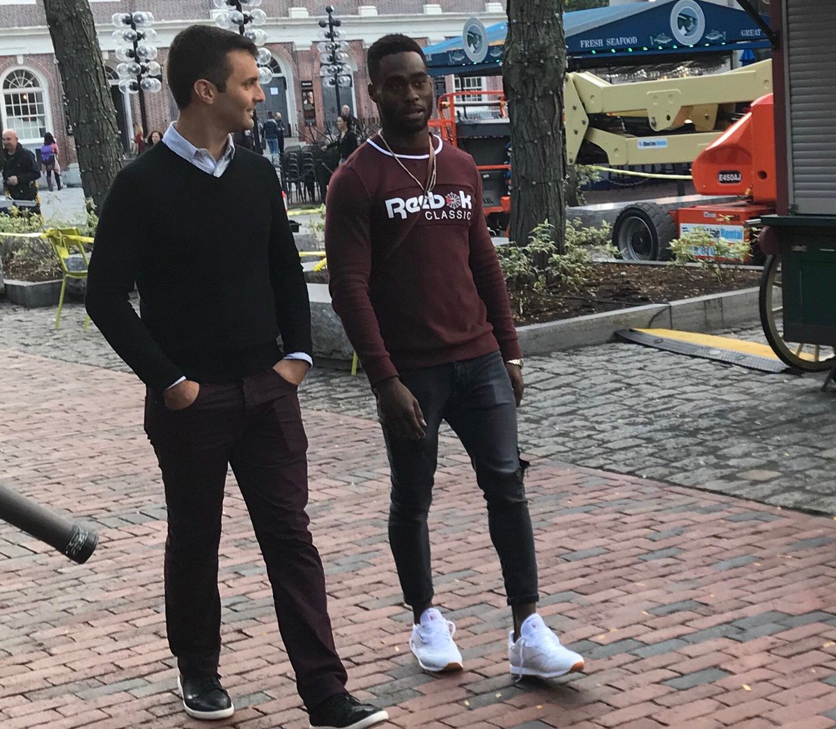 Looking forward to sharing the story of Patriots WR Brandin Cooks, who stayed focused through a tough childhood before finding NFL success.  It airs today on ESPN's Sunday NFL Countdown at 10:35 am EST. Produced by @Gavin_Cote.