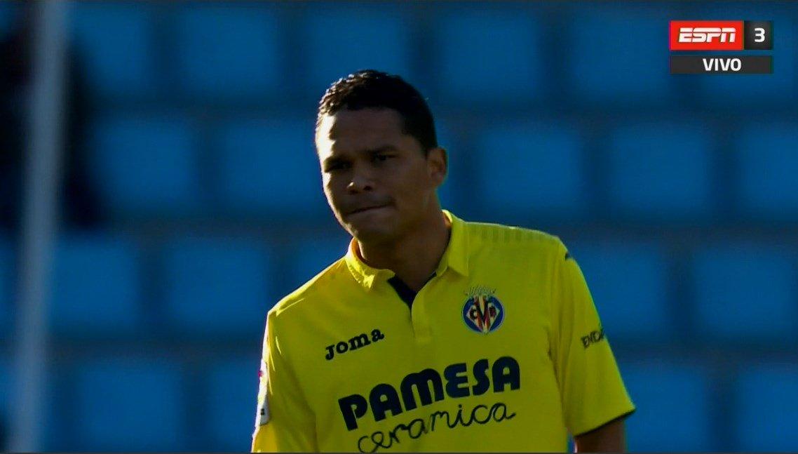 ¡Hola Carlos! Con Bacca de titular, Villarreal visita a Celta de Vigo (Cabral-Hernández-Gómez) en #LaLigaxESPN 3 en vivo.