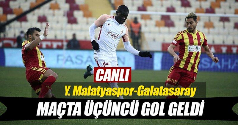GOL   Yeni Malatyaspor: 2  -  1 Galatasa...