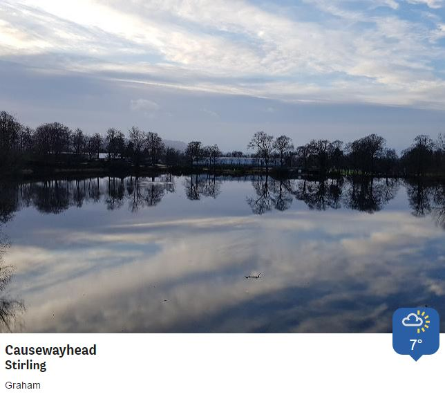 Brighter by degrees across Scotland this afternoon, and not just at Stirling University. @BBCWthrWatchers Phil