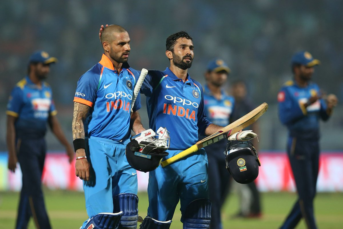 An eighth successive ODI series win for India 🙌  #INDvSL Vizag ODI report - https://t.co/SpPO0H19Q0
