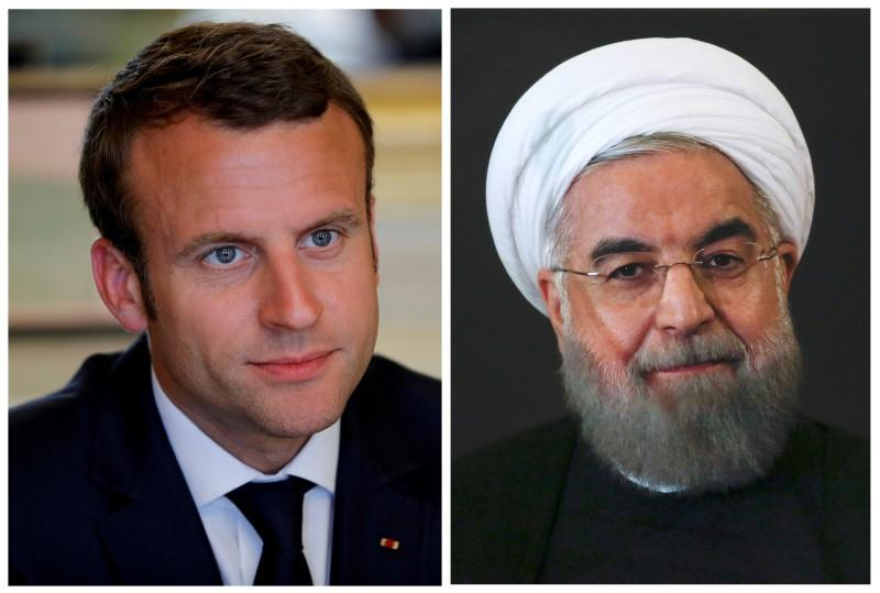 Iran tells France's Macron not to 'blindly follow' Trump https://t.co/HMy2j6ygMo