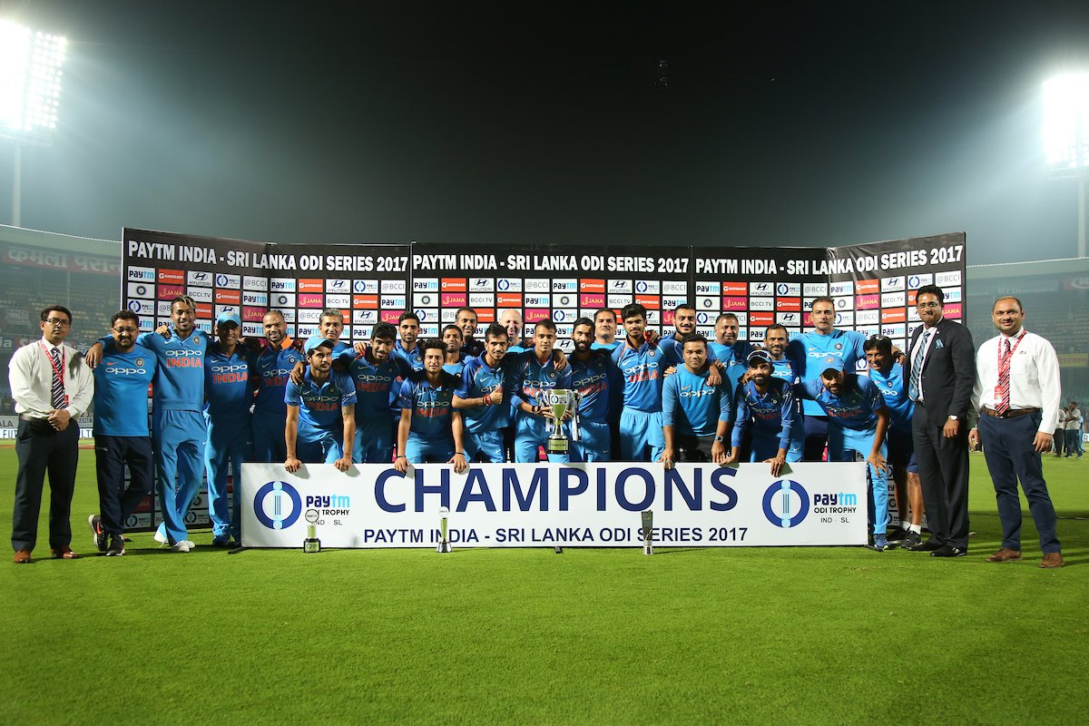 #INDvSL | @SDhawan25, spinners guide India to 8th straight series win https://t.co/rcOFkEoRVv