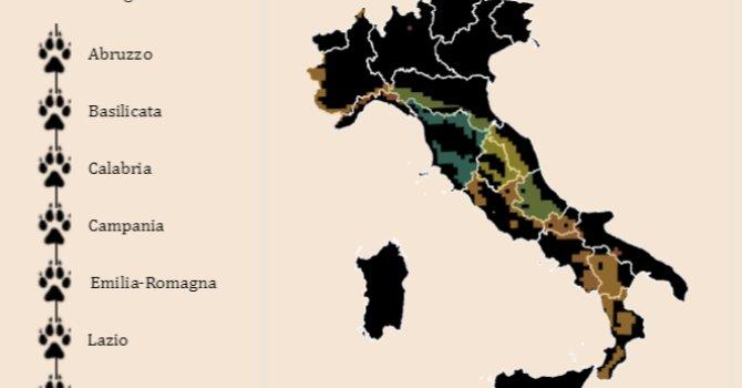 Ambiente: l'Italia non è un paese per il Lupo. La mappa https://t.co/7fWibQcp8w