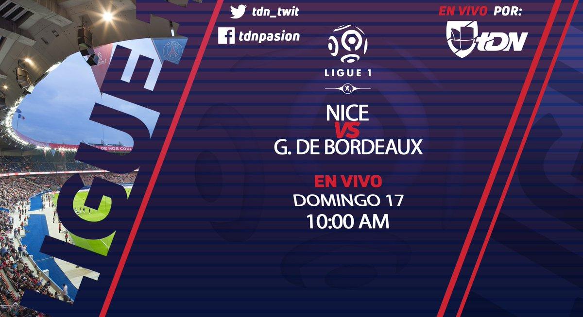 Alineaciones listas para el partido  @ogcnice vs @girondins  que podrás seguir EN VIVO por la señal de #UnivisionTDN