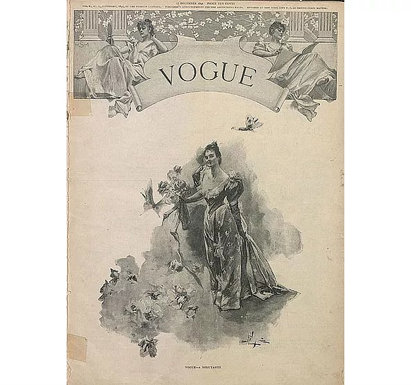 #OnThisDay #December 17 1892 @voguemagazine hits #magazine stands for the first time. https://t.co/fYd0eA6hTR https://t.co/D7477bI8nV