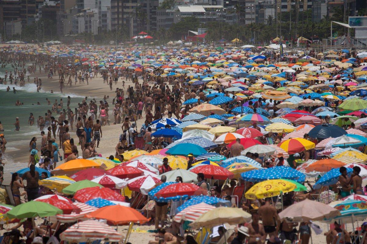 Rio registra 38,1º C no último domingo antes do verão https://t.co/rL29bUFYmA