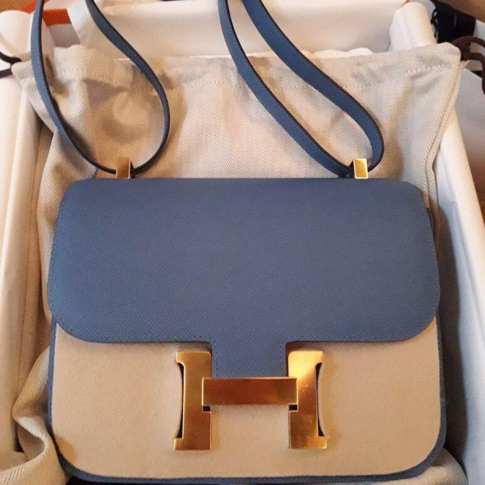 Constance 24 Bleu Azur Epsom GHW #hermes #birkin #kelly #constance #handbags #luxury https://t.co/yqGuPXsqeL