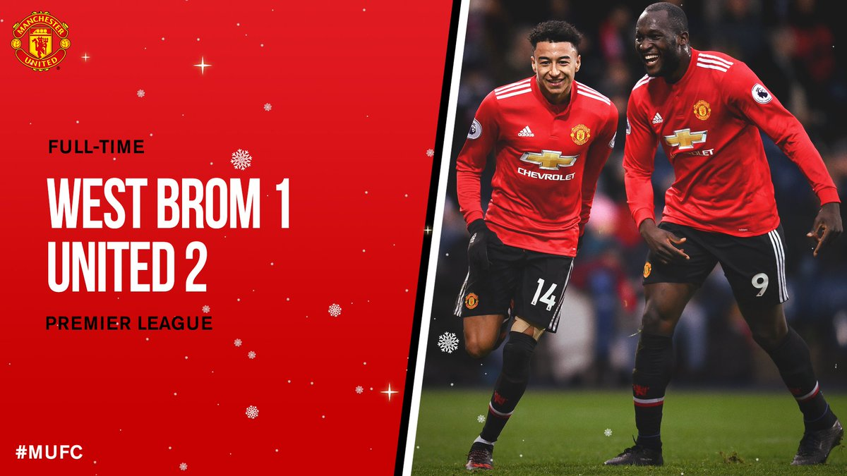Chấm điểm trận West Brom 1-2 Manchester United