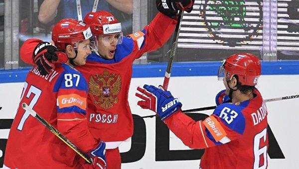 Сборная России по хоккею разгромила команду Финляндии и стала обладателем Кубка Первого канала https://t.co/iu77B834Au