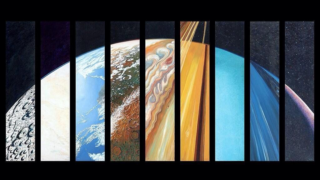 #Space #Art: the diversity of our #SolarSystem summed up in one big planet https://t.co/dhErUfzfaq via @imgur