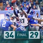 RT @Eagles: 12-2. First-round bye clinched.  #FlyE...