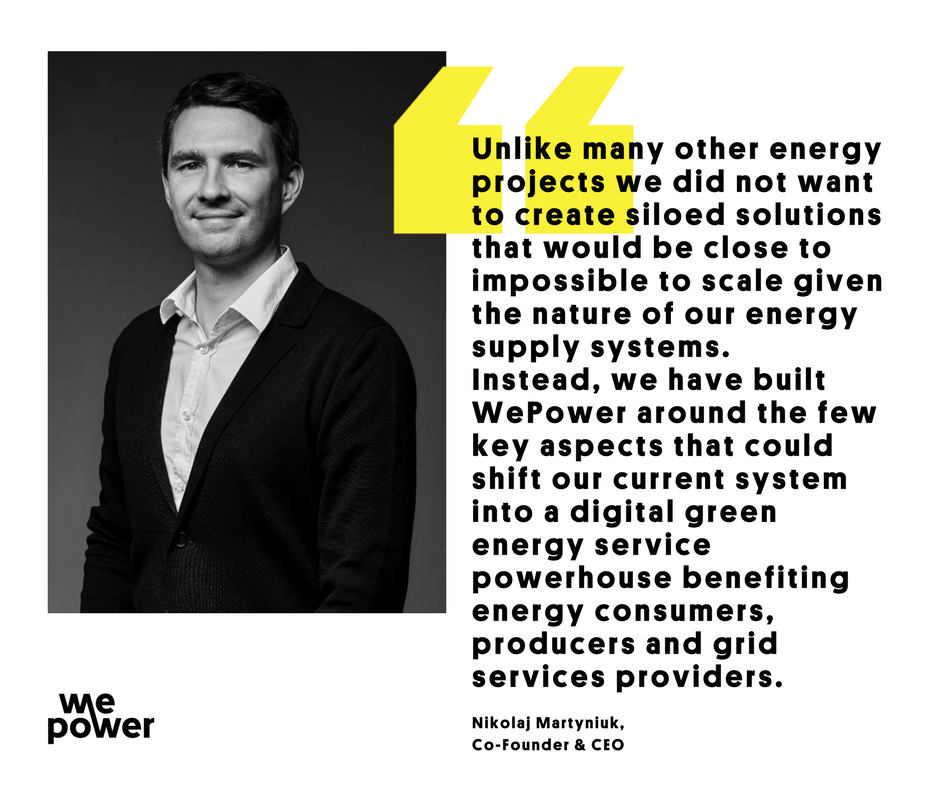 This is a quote from @Nikver article &quot;#WePower's position in the new #energy landscape&quot;  Read a full #overview here  https:// goo.gl/5DPXZc  &nbsp;   #EnergySector #Blockchain #ICO #RenewableEnergy #Innovation <br>http://pic.twitter.com/5uoXxCcvC3