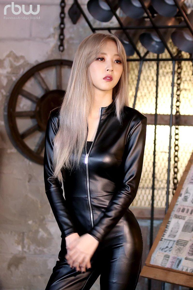 Beautiful in black catsuit 8