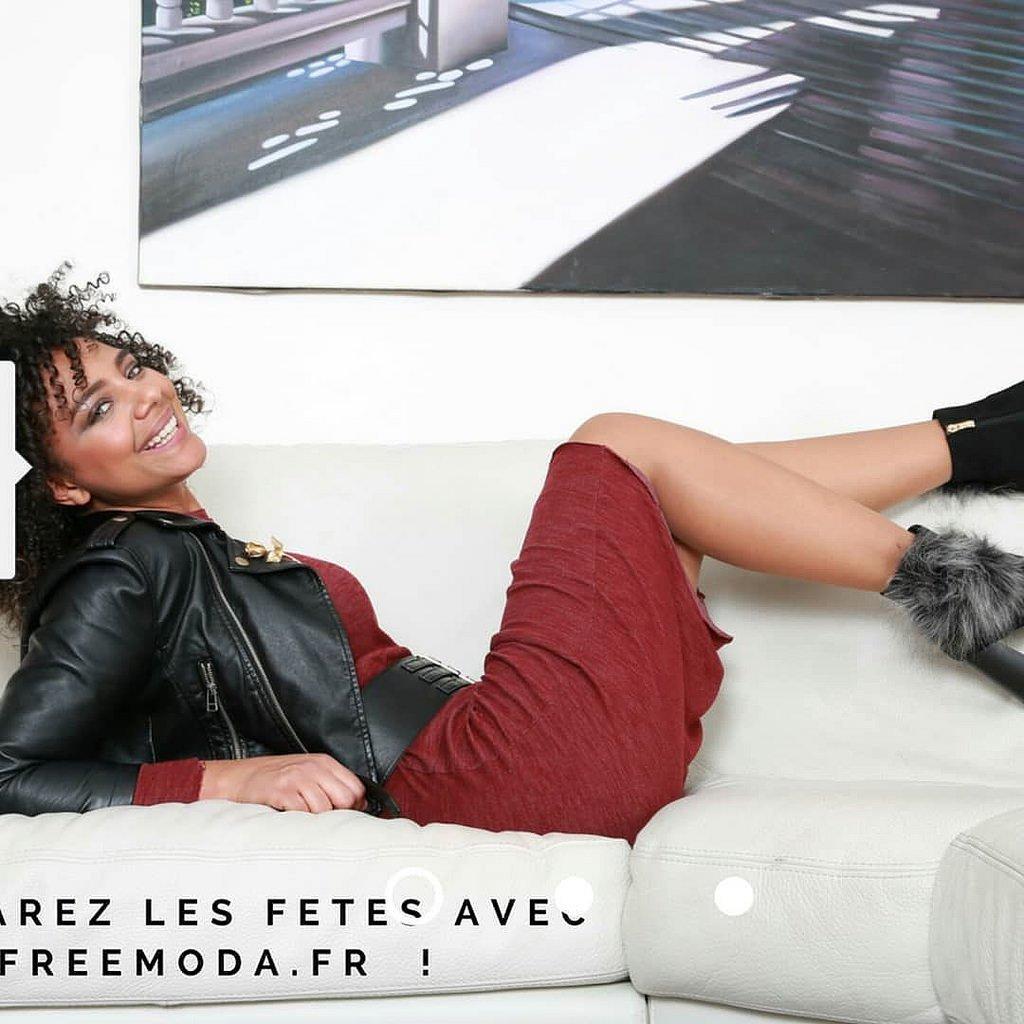 FANG-SDUDIO Chaussures De Femmes De Mouton Au Printemps Et en Été Et Chaude Femme Chaussures,De Gueules, Trente-Quatre