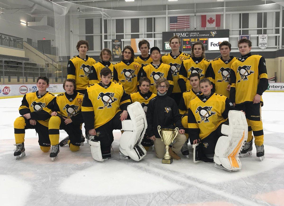 Game 2 - Pittsburgh Penguins Elite Vs Detroit Honeybaked