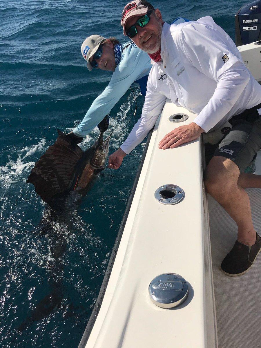 Miami, FL - Capt. Bouncer Smith went 1-1 on Sailfish.
