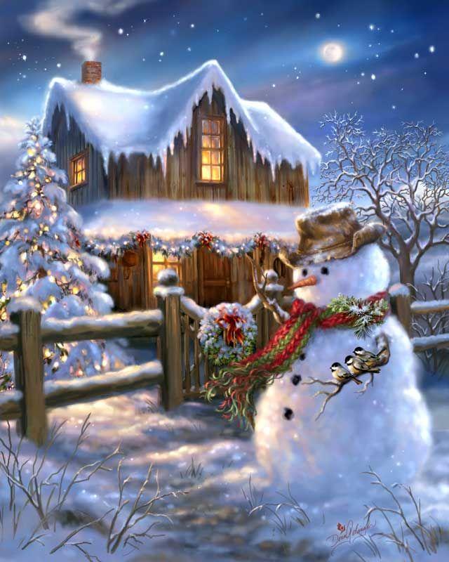 Картинки гифки новогодние сказочные, открытки поцелуями