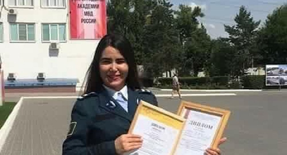Meet the fearless #Afghan girl studying at the Russian academy of #police https://t.co/iN4UigB60b https://t.co/dmvjubz5KN