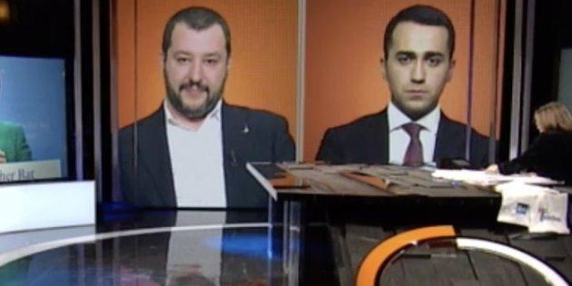 Cattiveria filibustiera della sera n.3. Come già fatto nei confronti di Renzi, oggi Gigino ha rifiutato il dibattito tv con Salvini. Ha mica torto, è irrilevante, in fondo il 'Re Centrodestro' è Scilvio