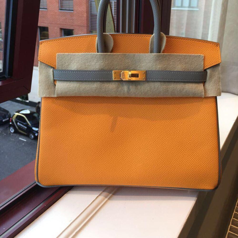 Birkin HSS 30 Jaune d'Or/Gris Mouette Epsom BGHW #hermes #birkin #kelly #constance #handbags #luxury https://t.co/dbpMpnecoG