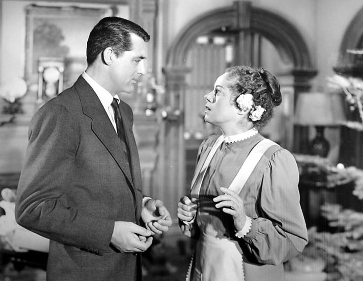 "The Nitrate of the Hunter on Twitter: ""We are all Elsa Lanchester looking  at Cary Grant in THE BISHOP'S WIFE.… """