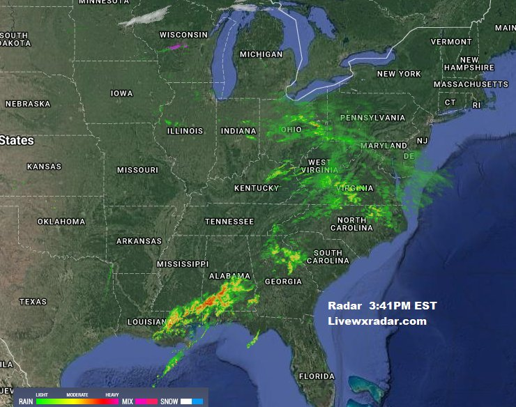 Radar Map Florida.Rob Delp Weather On Twitter Current Radar Map 3 41pm Est See This