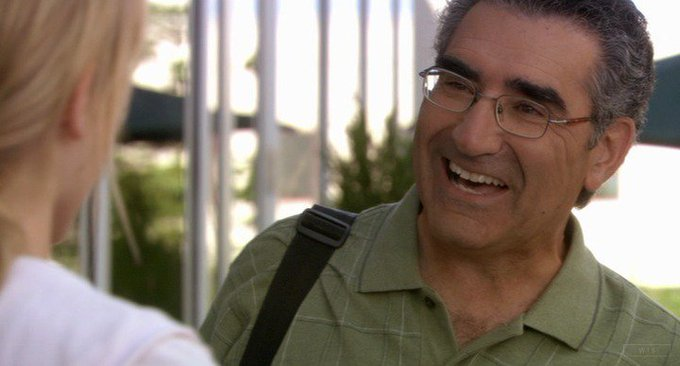 Happy Birthday to Eugene Levy who\s now 71 years old. Do you remember this movie? 5 min to answer!