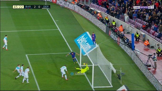 Дубль Паулиньо помог «Барселоне» обыграть «Депортиво»