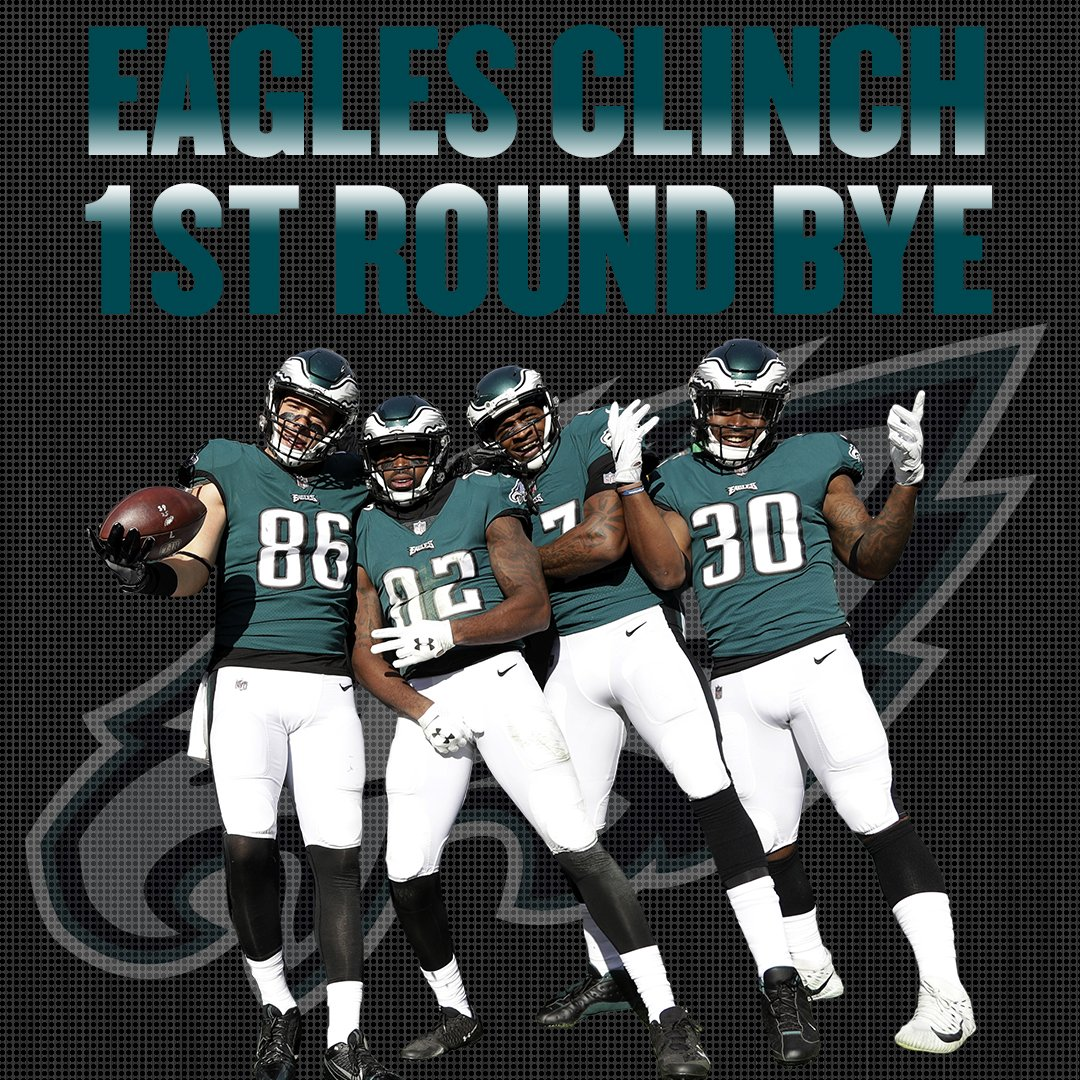 The @Eagles said 'bye, bye, bye' after topping the Giants 34-29. #FlyEaglesFly