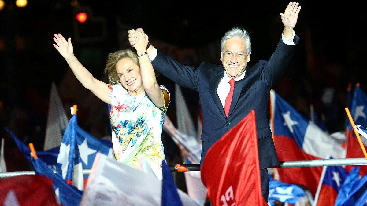 Sebastián Piñera triunfó en el ballotage y vuelve a ser Presidente de Chile https://t.co/nTIAYwtuZu https://t.co/DJd3YVBUgh