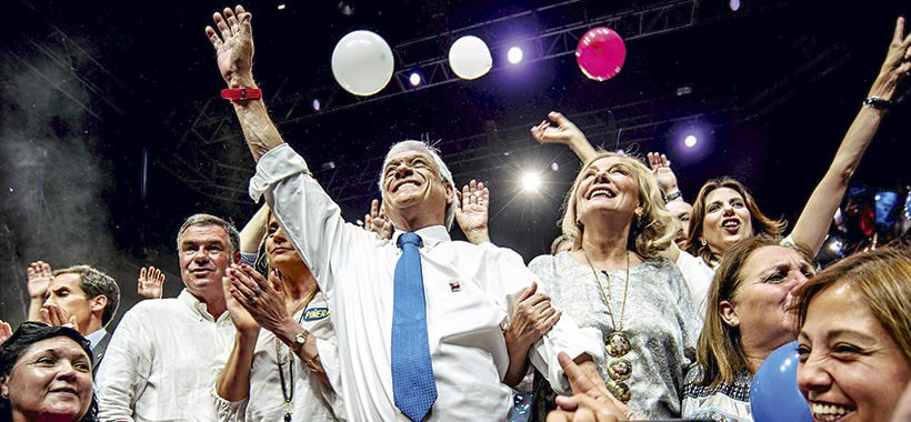 🔘 #ChileElige | Sebastián Piñera supera a Guillier por amplio margen y retorna a La Moneda https://t.co/PzEIGB4uQg