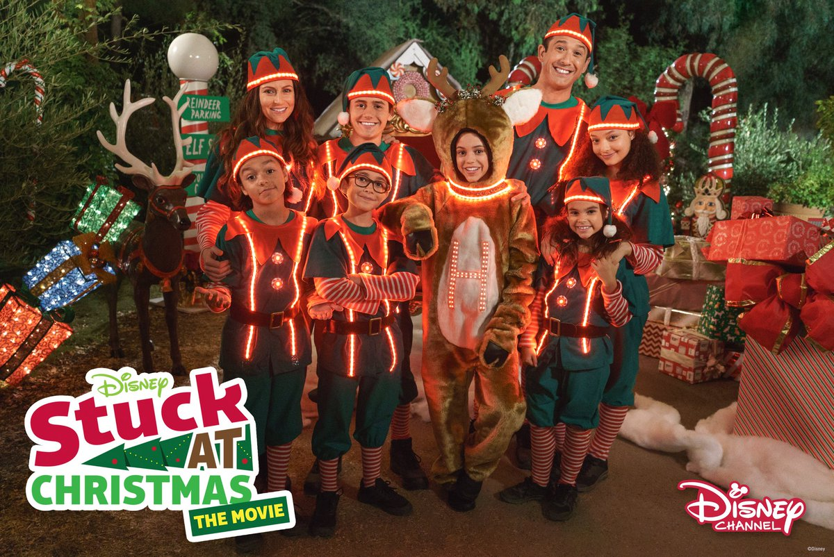disney aus on twitter mini movie premiere stuck in the middle stuck at christmas premieres sunday at 430pm on disney channel australia - Disney Channel Christmas