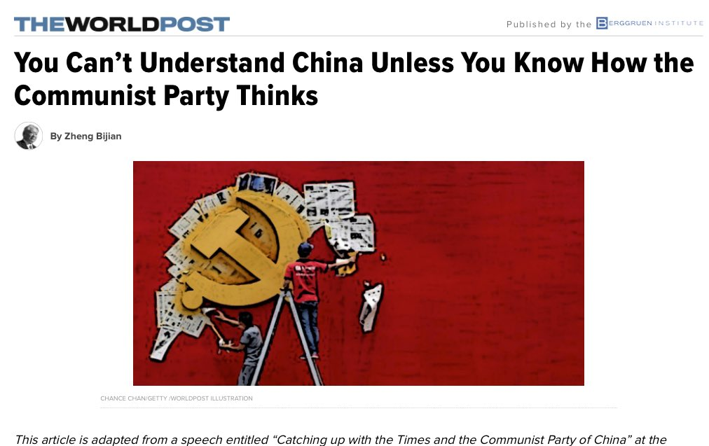 @sqlblues It's still a #communist #state! This is a good article on #China now! https://t.co/QOtvsectXp