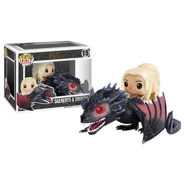 Figura Pop! Vinyl Rides Daenerys y Drogon - Juego de Tronos  https://t.co/0YPXgWsmMu https://t.co/BufgXI8FR5