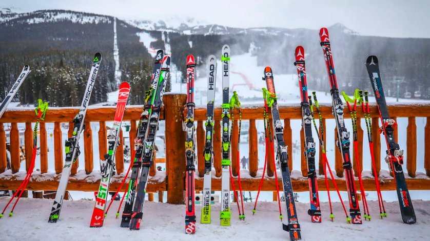 Get to know the equipment alpine skiers use as the ladies super-G in Val d'Isere, France airs NOW on @NBCSN: https://t.co/EWpHANbXsz