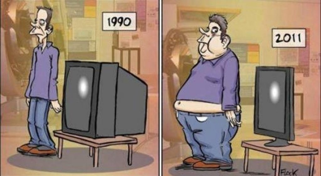 LOVE THIS POWERFUL CARTOON On How Things of Changed Since 1990s #CES2018 #fitness #health <br>http://pic.twitter.com/NTnadPtjCG
