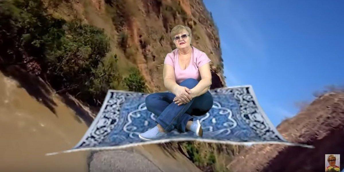 그린 스크린 사용법을 알게 된 할머니는 유튜브 스타가 됐다 https://t.co/Fjgk1IPJW3
