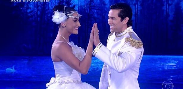 Competição do Faustão | Maria Joana e Reginaldo Sama vencem a Dança dos Famosos https://t.co/cGtDeBAQu8