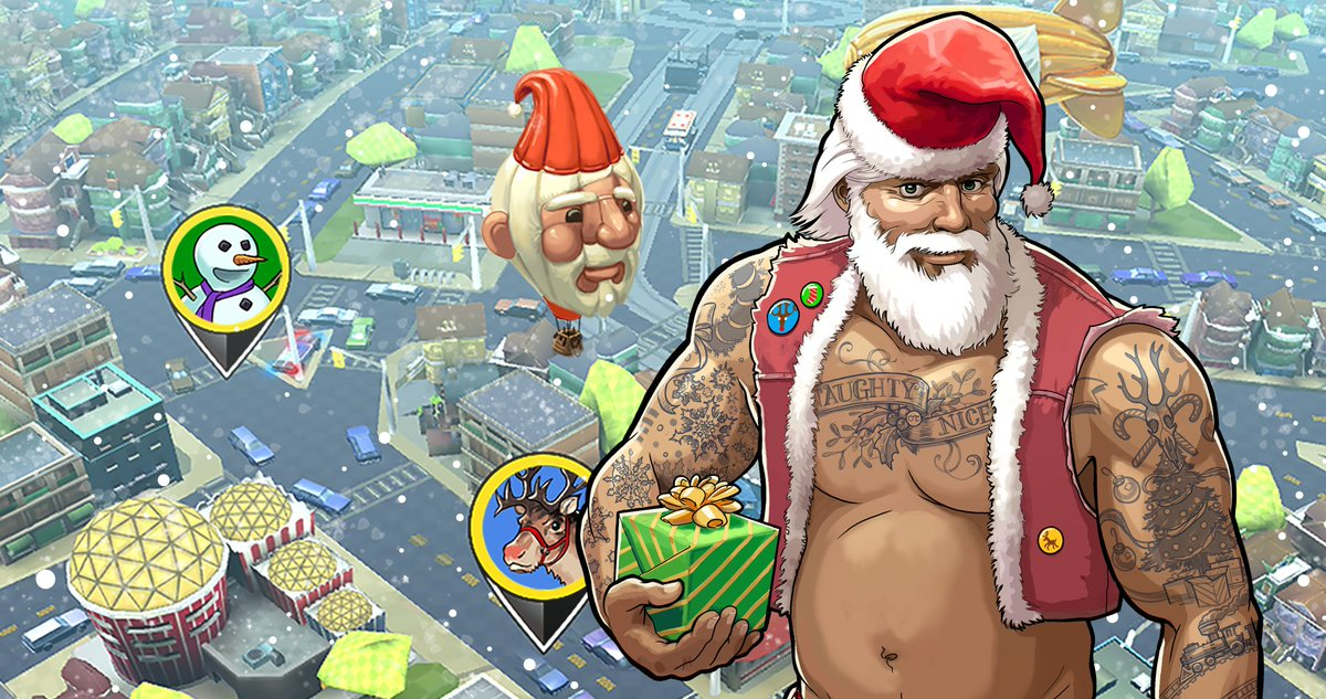 Whether you've been naughty or nice, Daddy Christmas is now unlockable as a driver in Crazy Taxi Gazillionaire on iOS and Android! 🎅🏼  Download the game for free now! 🚕💨 https://t.co/8IUGUnt8N3
