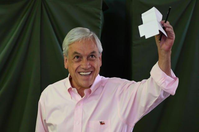 Nachfolger vonBachelet: Piñera gewinnt Präsidentschaftswahl in Chile https://t.co/HbDMzFKv4K