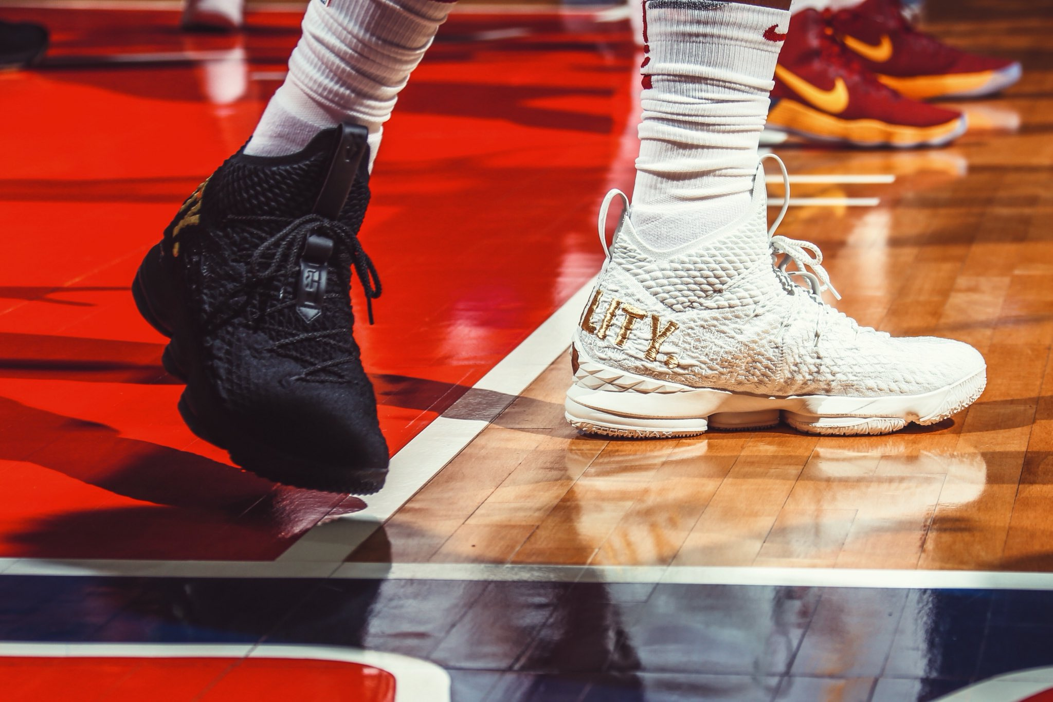 675a4e82d2e ... b r kicks on twitter lebron james in the equality nike lebron 15 pe  tonight vs.