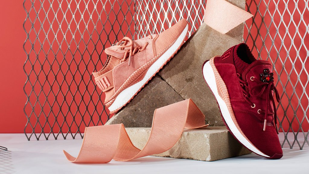 aa294ab646f Your next  velvet crush is here. sparkle your look with the  puma tsugi  shinsei velour -