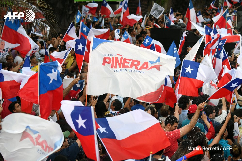 #UPDATE Billionaire Pinera to return as Chile's president: election results https://t.co/4hh066HYze