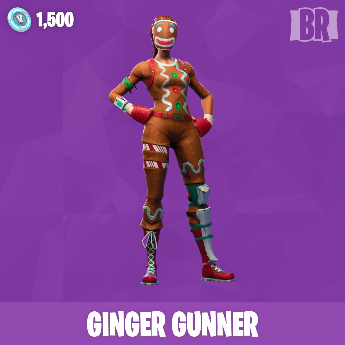 Merry christmas with gingerbread