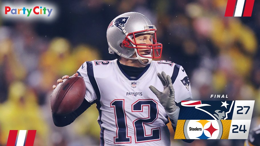 WHAT A GAME. #GoPats