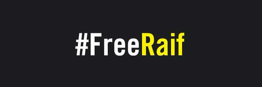 Retweet and reply (#FreeRaif) if you want him free...🙏 https://t.co/maLd5vt0Cz
