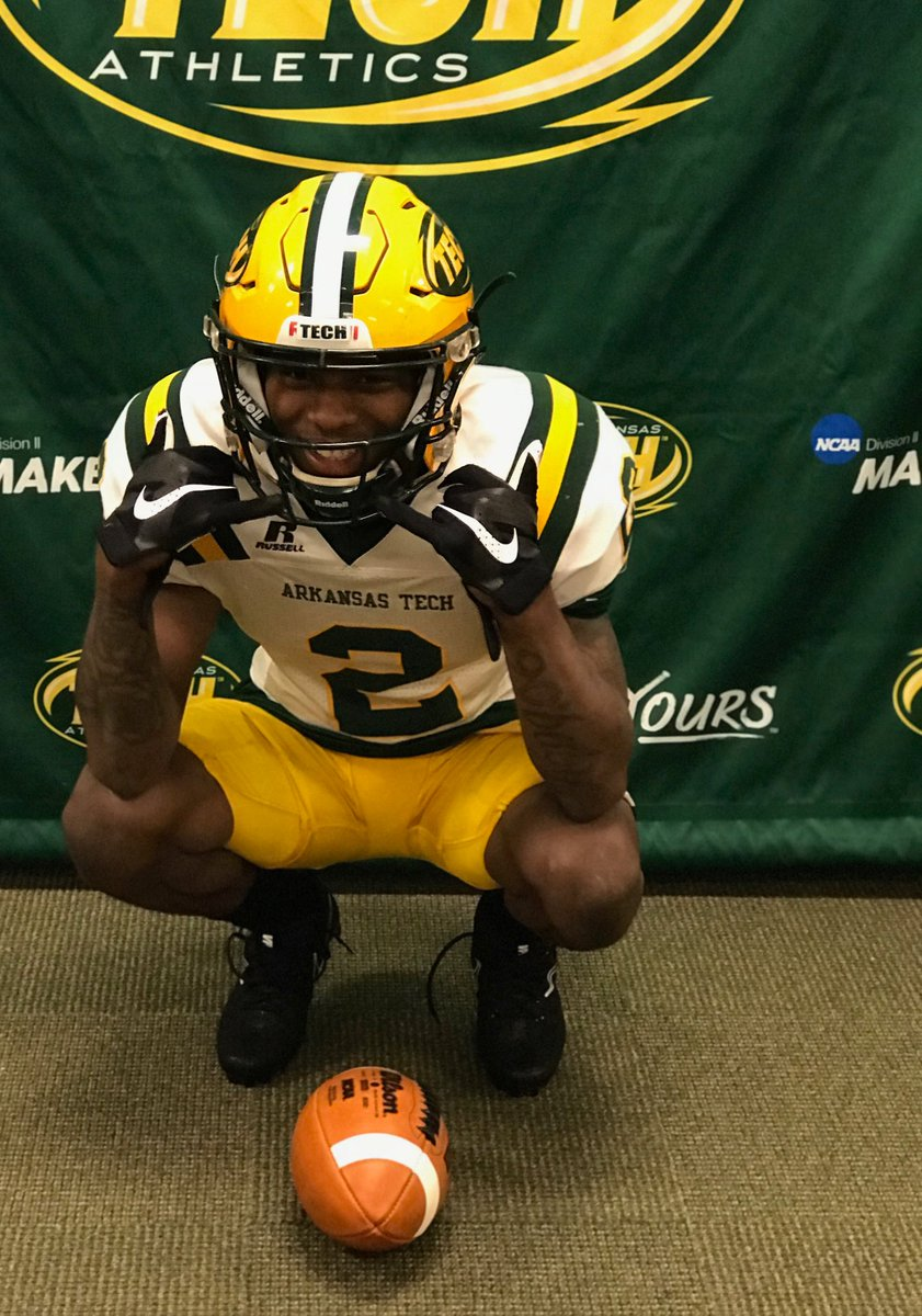 #OfficialVisit Darrius Stokes @D1_Stokes of Monroe JuCo @mjcmustangs @ATUFOOTBALL visit